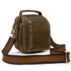 Videtti Crazy Horse Leather Shoulder Bag - Chilco Leather
