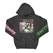 Load image into Gallery viewer, London Calling / Armagideon Times Hooded Sweatshirt