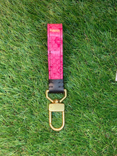 Load image into Gallery viewer, LV Murakami Keychain w/ Brass Swivel Clasp