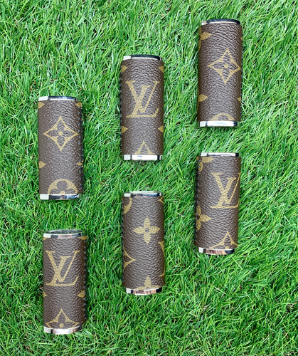 LV Monogram Lighter Case - Chrome Case