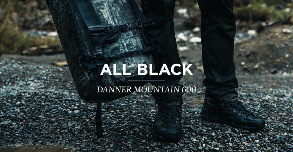 danner mountain 600 full grain black