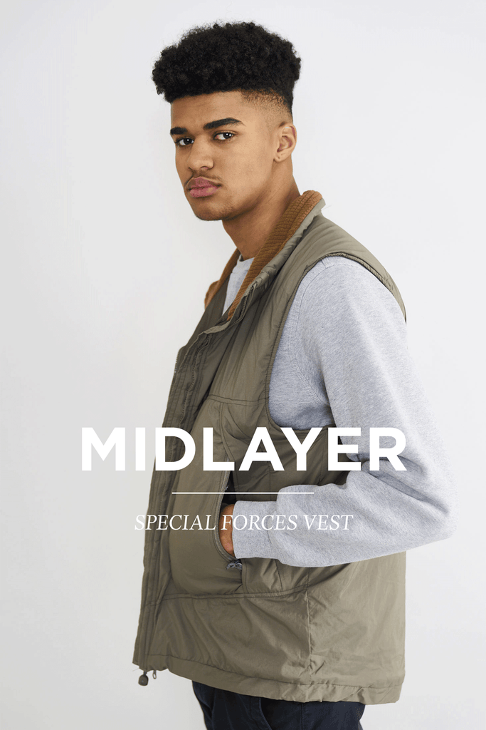 Tactical midlayer and vests