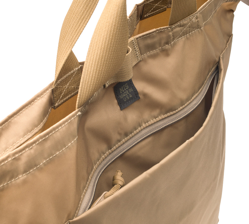 MIS 2 Way Shoulder Bag / Coyote Tan