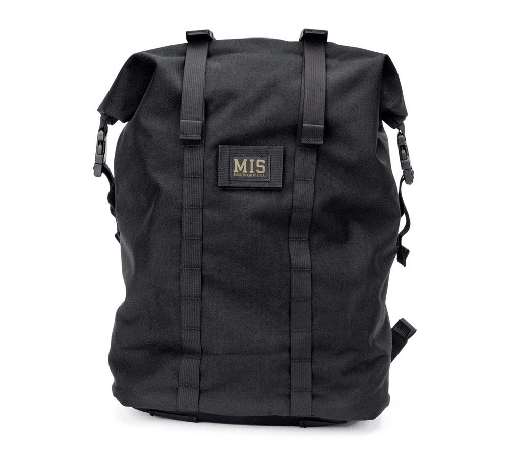 MIS Roll Up Backpack / Black