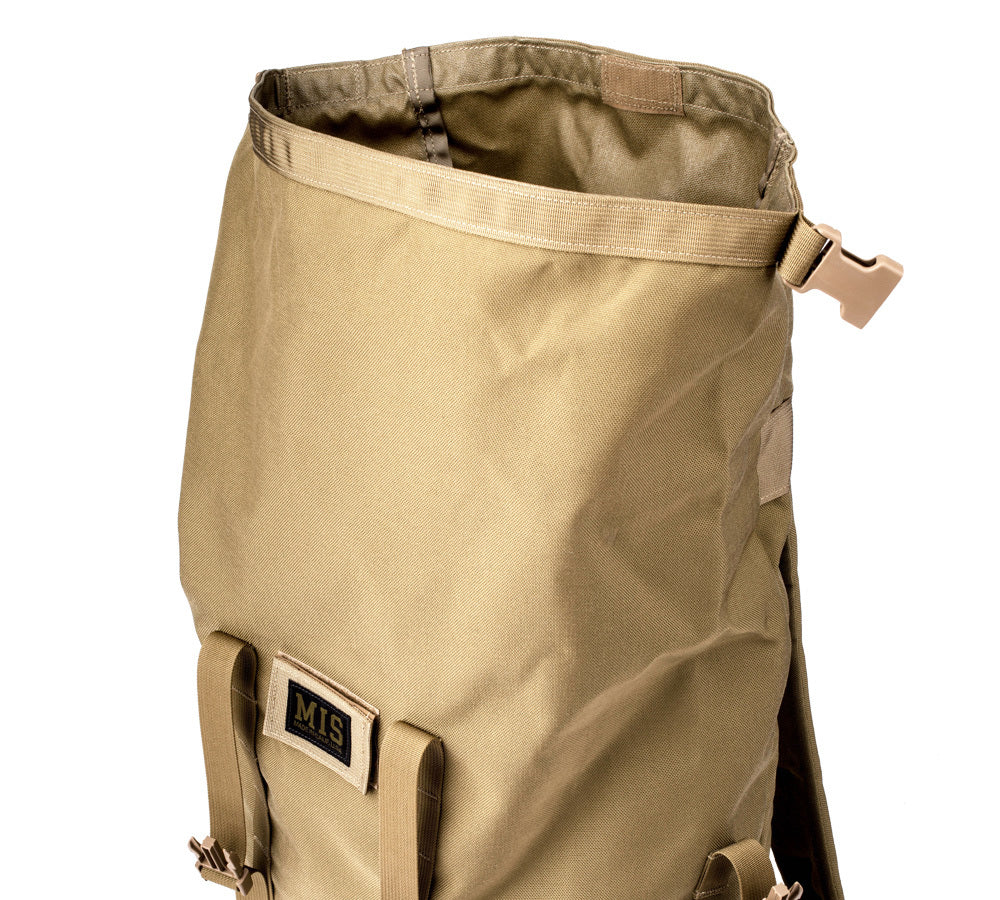 MIS Roll Up Backpack / Coyote