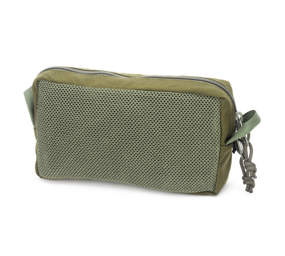MIS Slim Mesh Toiletry Bag / Olive Drap