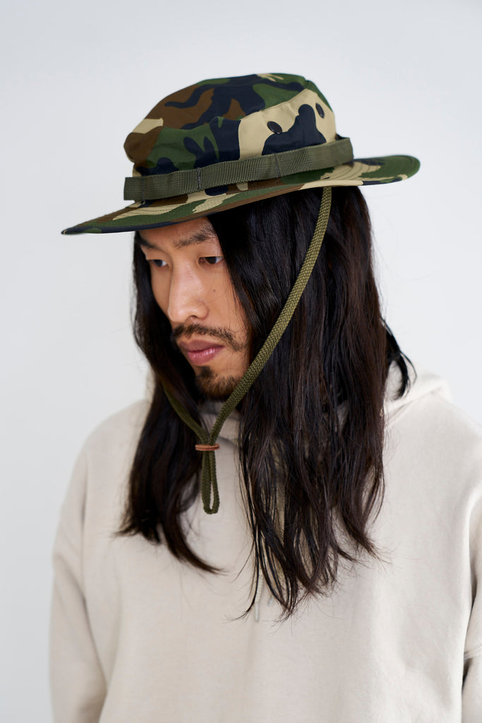 US Army GI Boonie Hat laminated Woodland