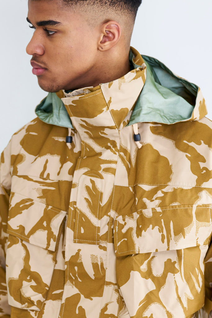 British Army MVP Desert Gore-Tex Jacket