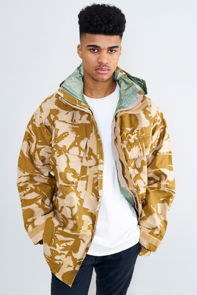 British Army MVP Desert Gore-Tex Combat Jacket