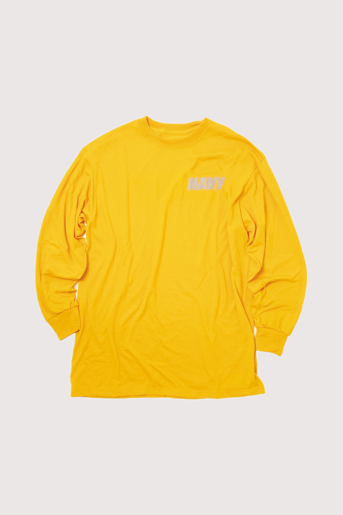 Soffe Official U.S. Navy PT Longsleeve Shirt / Gold