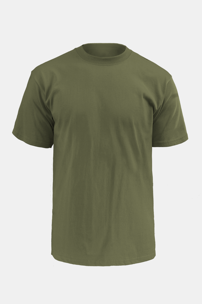 Soffe Hero Transdry™ T-Shirt USA Flag / OD Green