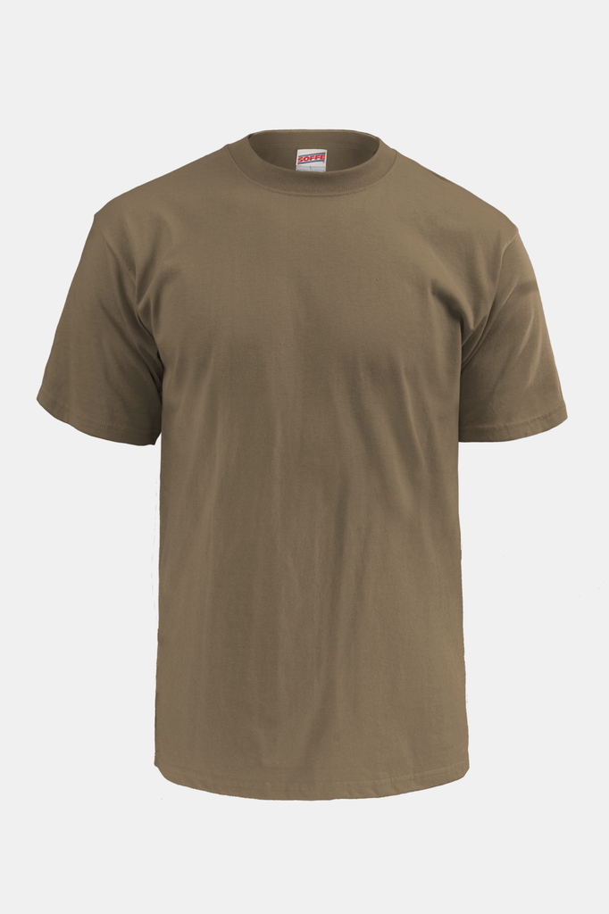 Soffe U.S. Army & Air Force 50/50 T-Shirt / Tan