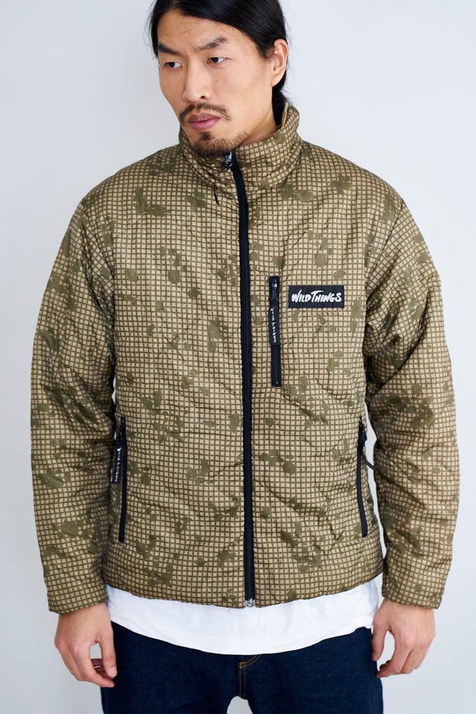 Wild Things Night Camouflage/Sand Reversible Primaloft Jacket