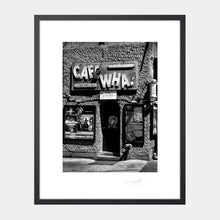 Load image into Gallery viewer, Cafe Wha