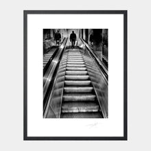 Load image into Gallery viewer, Man on escalator