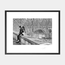 Load image into Gallery viewer, Kissing by the Tiber