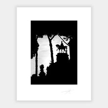 Load image into Gallery viewer, Statue Silhouette