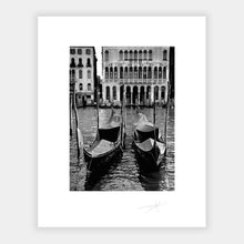 Load image into Gallery viewer, Two Gondolas