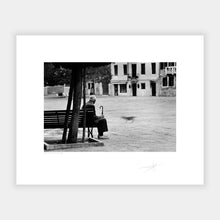 Load image into Gallery viewer, Man on a bench
