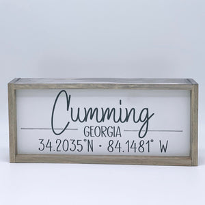 City Signs (Custom available)