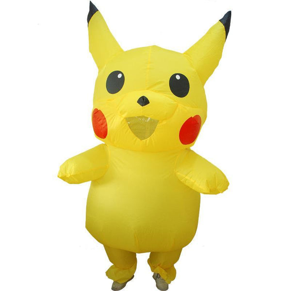 Pikachu Inflatable Costume Cosplay Halloween Costume For Kids Adult
