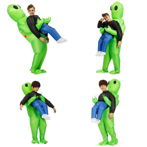 Alien Inflatable Costumes Fancy Costume Halloween Cosplay Fantasy Costume Adult And Kids