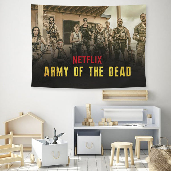Army of the Dead Tapestry Wall Hanging Background Fabric Painting Tapestry Decoration