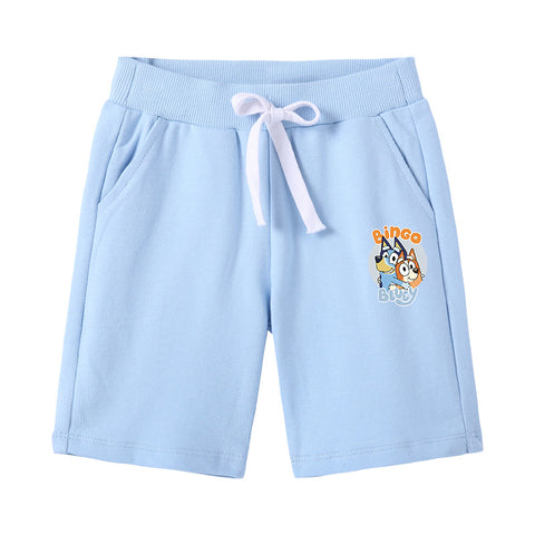 Bluey Cotton Shorts Swim Trunks for Kids