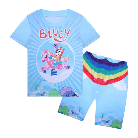 Bluey Swimwear Sun Protection Beach Swimsuit for Kids