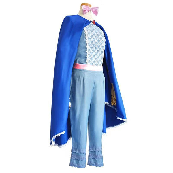 Bo Peep Blue Costume Toy Story Halloween Costume Party Supplies