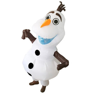 Christmas Cartoon Snowtreasure Inflatable Costume Performance Props Party Toys