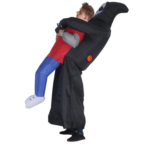 Ghost Catch People Inflatable Costume Cosplay Props for Halloween Party