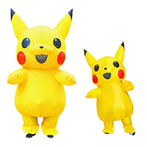 Halloween Pikachu Inflatable Costume for Kids and Adults