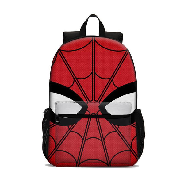 Miles Morales Spider Man Backpack Lightweight Laptop Bag Large Capacity Kids Adults Use Sport Outdoor