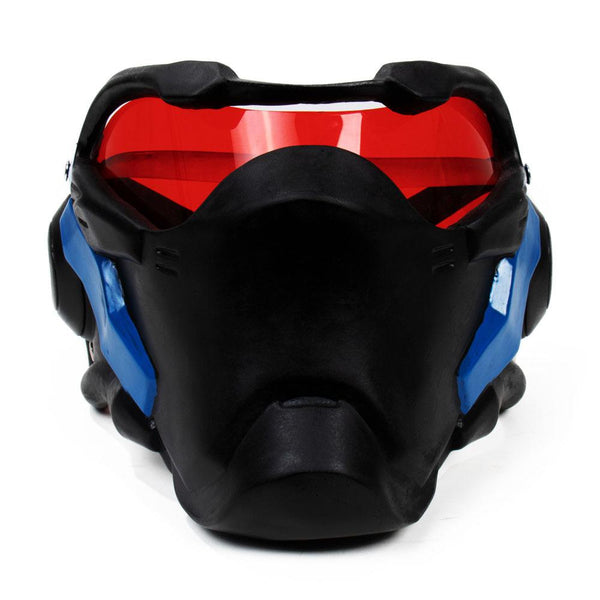 Overwatch Soldier 76 Cosplay Props Halloween Party Headgear Face Cover