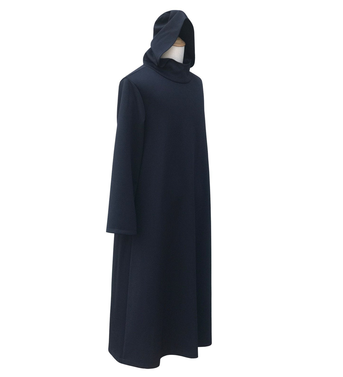 Plague Doctor Cape Hooded Cloak Halloween Cosplay Party Costume Robe for Adult