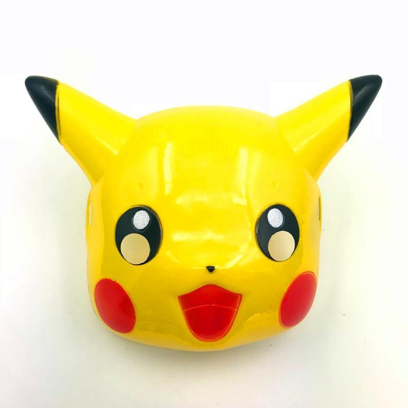Pokemon Pikachu Anime Mask PVC Costume Party Prop