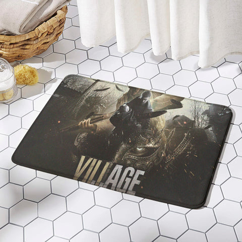 Resident Evil Village Rug Mat Non-slip Floor Mats for Door Home Decoration