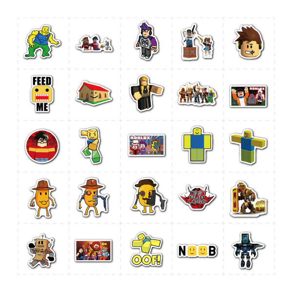 Roblox Stickers Waterproof Home Decals Decoration