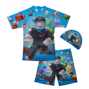 Roblox Wear Surfing Suits Sun Protection Beach Swimsuit Swimwear 3 pcs