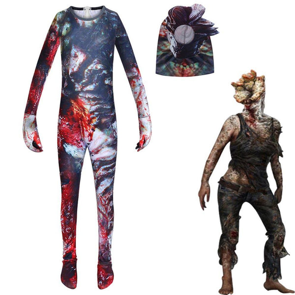 The Last of Us Part II Jumpsuit Cosplay Costume for Kids Halloween