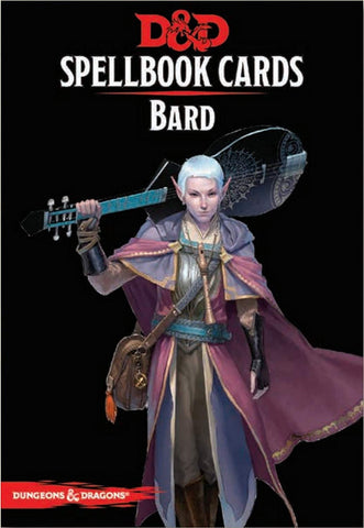 Dungeons & Dragons - Spellbook Cards: Bard