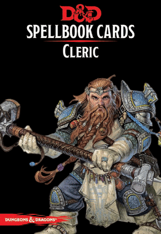 Dungeons & Dragons - Spellbook Cards: Cleric