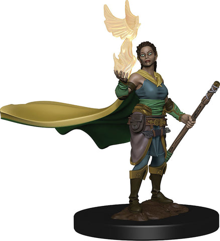 Dungeons & Dragons Fantasy Miniatures: Icons of the Realms Premium Figures: Elf Druid (Female)