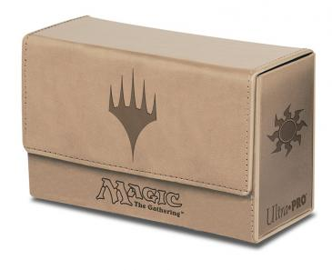 Ultra PRO Dual Flip Box White Mana for Magic (Matte Finish)