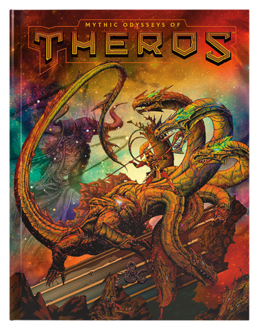 Dungeons & Dragons: Mythic Odysseys of Theros (Alternate Art)