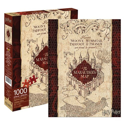 Harry Potter Marauder's Map 1,000 Piece Puzzle