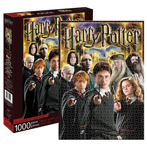 Harry Potter Collage 1,000 Piece Puzzle