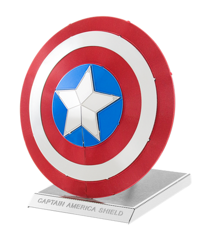Metal Earth Marvel Captain America's Shield