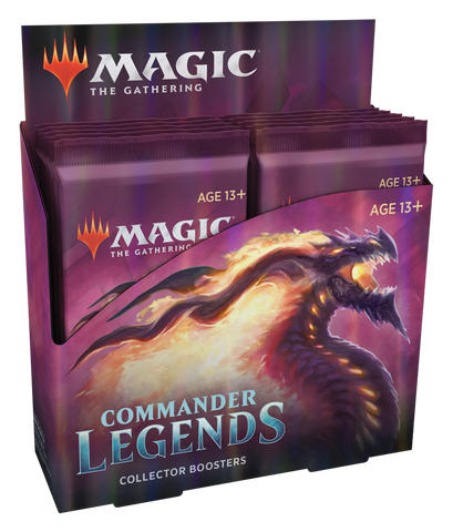 Magic The Gathering: Commander Legends - Collector Booster